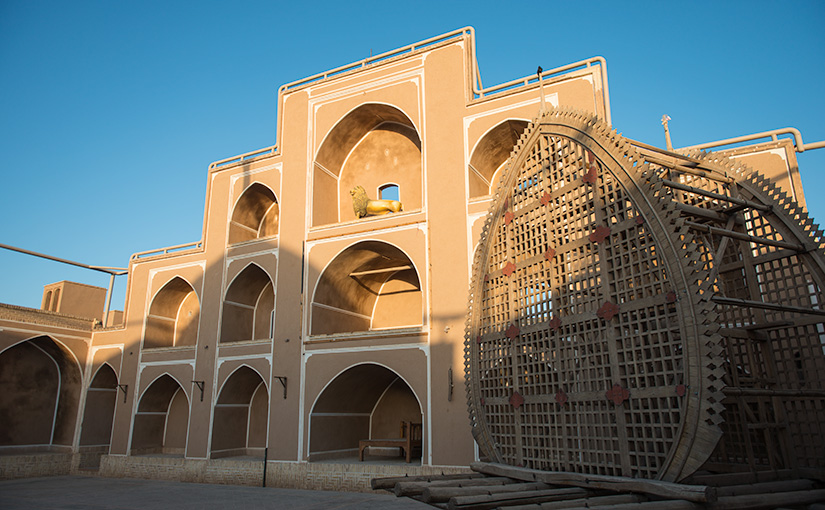 Beautiful structure in Yazd