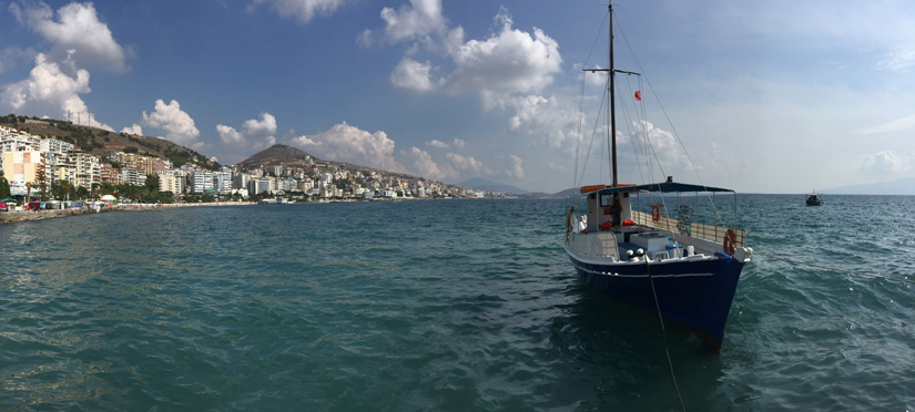 The town of Sarande