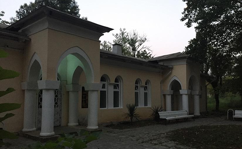 The spa town of Tskaltubo