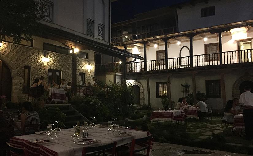 The Tradita Hotel in Shkodra
