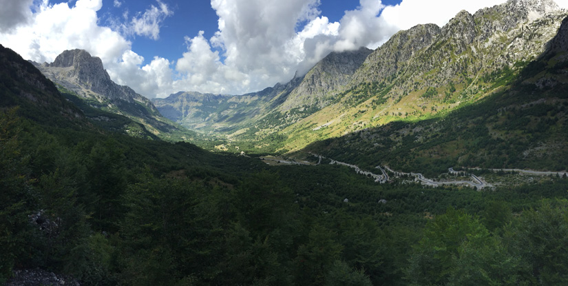 More landscape in the Theti area