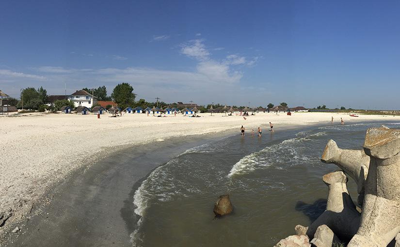 On the Black Sea side at Gura Portitei