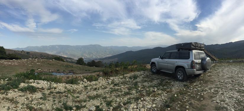 The view from Yenokavan