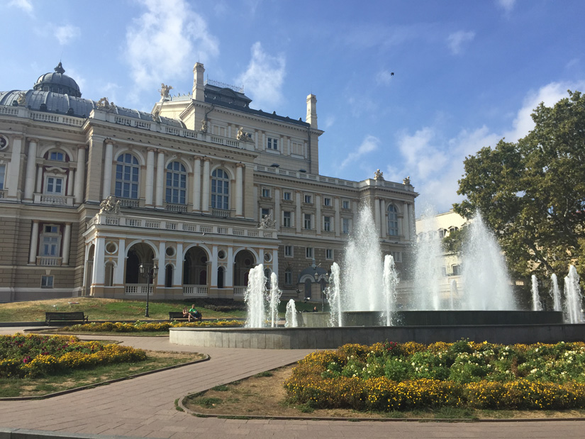The Odessa Opera and Theater